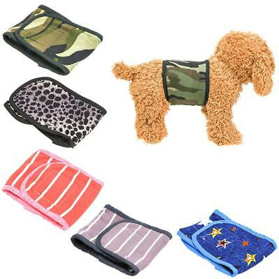 Female/Male Dog Sanitary Pants Underwear Pet Cotton Physiological Diaper Shorts
