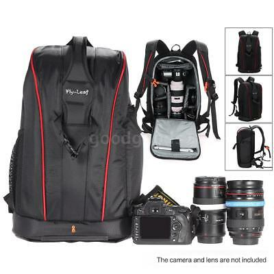 DSLR Camera Backpack Bag Photography Waterproof Case Large for Nikon Canon SONY