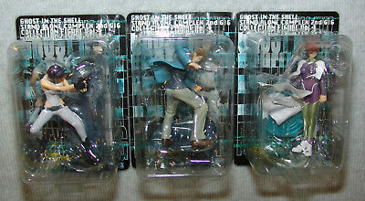 NEW SEGA Ghost in the shell STAND ALONE COMPLEX 2ND GIG Collection Fig Vol.4 ALL