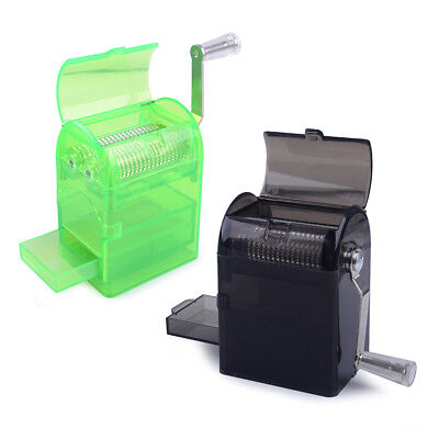 Mini Hand Crank Grinder Crusher Tobacco Herb Cutter Shredder Smoking Case Muller