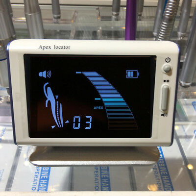 """DTE DPEX III Style Dental Lab Endodontic 4.5""""LCD Root Canal Finder Apex Locator"""