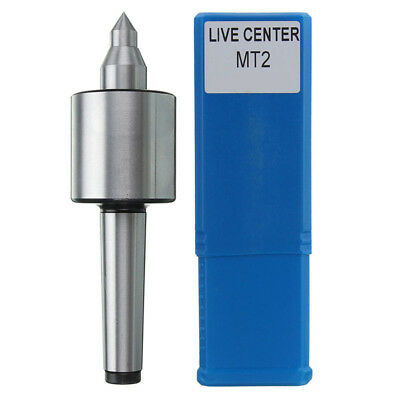 MT2 Live Center Morse Taper Precision 0.000197'' CNC Long Spindle Lathe Tool 2MT
