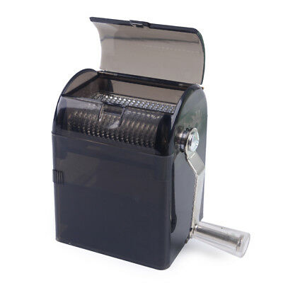 Hand Crank Tobacco Herb Grinder Chili/ Pepper/Spice Shredder Crusher - Black