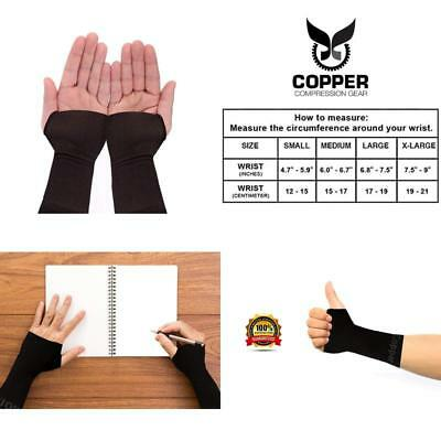 e61754a5f3 Wrist Brace Sleeve By Copper Compression Gear - Relief For Carpal Tunnel,  Rsi.
