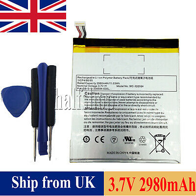 New Battery Mc 308594 For Amazon Kindle Fire 7 5th Gen Sv98ln