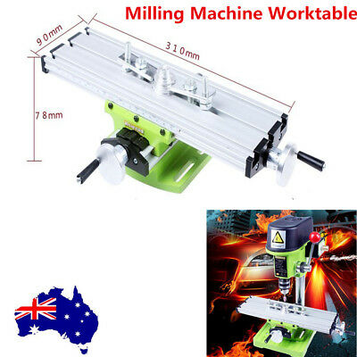 Compound Milling Working Table DIY  X Y Cross Sliding Bench Drill Vise Vice AU