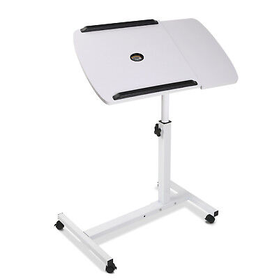 Mobile Laptop Desk Adjustable Notebook Computer iPad PC Stand Table Tray @SAV