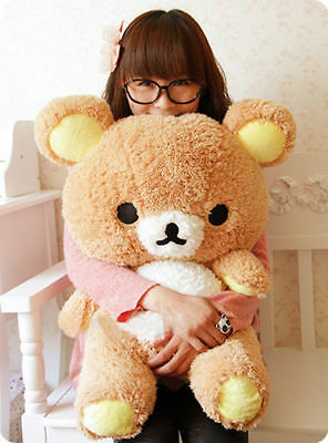 55cm Rilakkuma Doll Bear Pillow Plush San-x Toy Stuffed Xmas Relax Birthday Gift