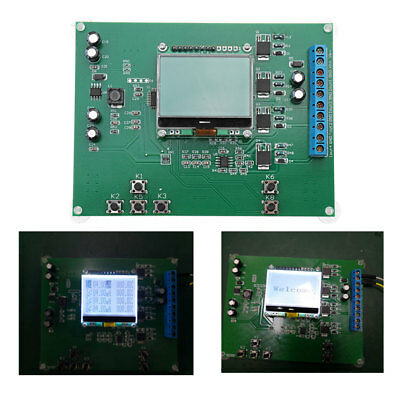 4 Channels 4-20mA Current Signal Generator Module Board With 12864 Digital LCD D