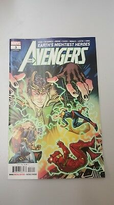 Marvel Comics: Avengers #3 Aug 2018 - BN Bagged and Boarded