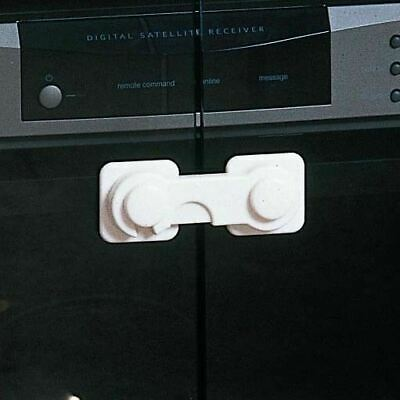 Clippasafe Glass Cabinet Lock Keep Little Hand Out & Contents Safe