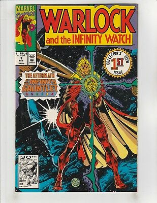 Warlock and the Infinity Watch #1 VF- 7.5 Marvel Infinity Gauntlet Aftermath