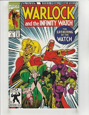 Warlock and the Infinity Watch #2 NM- 9.2 Marvel Infinity Gauntlet Aftermath