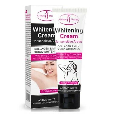 Aichun Beauty Armpit Whitening Cream Body Get Rid of Dark Legs Knees Private 50g