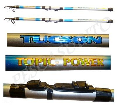 Kit 2 Canne Potenti Da Surf Casting Pesca Mare Surfcasting Canna Telescopica be3b64cf0e15