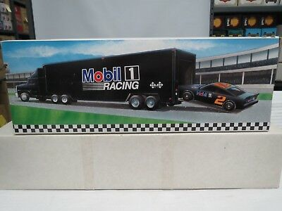 Mobile Oil Race Car Carrier #2 in Series-Limited Edition-NIB