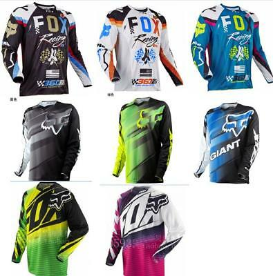 2018 Fox Men's Adult Racing Jersey Motocross Dirt Bike Off Road  SS