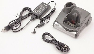 Symbol Motorola CRD9000-1001SR Charging Cradle w/ Power Supply & USB Cable
