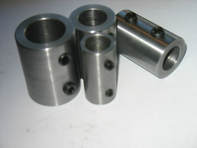 "Shaft Coupling Stainless  Steel  3/4""  OD  X  5/16""  ID   X 2 1/2""  Long  1 Pc"