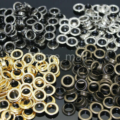 Lots Eyelet with Washer Bag clothing Repair Grommet 3.5/4/5/6/8/10/12/14/17/20mm
