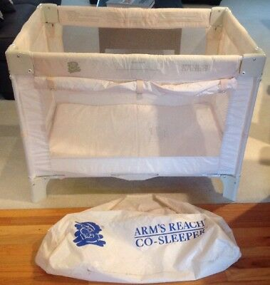 """Arm's Reach Co-Sleeper Play Yard Only Large Size 40"""" L X 28"""" W X 25"""" D."""