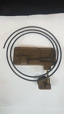 Antique German Spiral Wald Gong from a Junghans Cased Wall Clock
