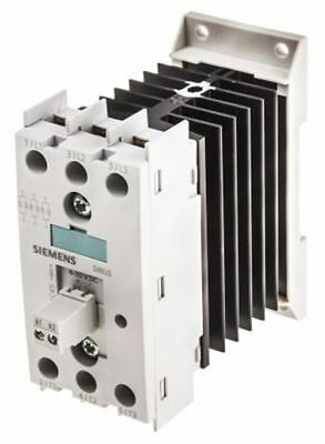 Siemens 10.5 A 3P-NO Solid State Relay, Zero Crossing, DIN Rail Thyristor, 600 V