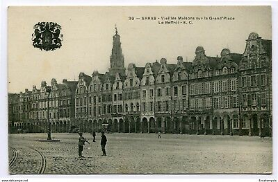 CPA - Carte postale -France -  Arras - Vieilles Maisons Sur la Grand Place