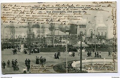CPA - Carte postale- France -Tourcoing - Exposition Internationale - 1906