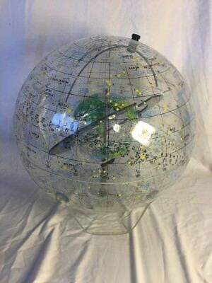 RareFarquhar Earth In Space Transparent Globe Celestial Astronomy Constellations