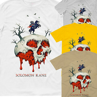 Solomon Kane,100% Cotton,men's T-Shirt.,e0523