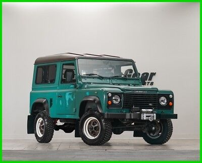 Land Rover Defender  1980 Land Rover Defender 90 Diesel Manual Transmission. Fully Restored