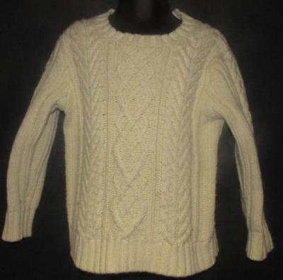 22a5d84a6848 BABY GAP TODDLER Boys Sweater Size 2T Cream Cable Knitted -  8.99 ...