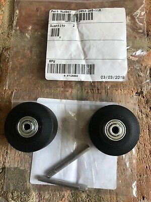 ONE NEW PAIR PELICAN Replacement Wheels Pins part# 1653-340-110