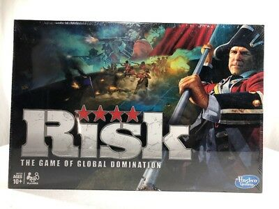 Risk 2010 Hasbro The Game of Global Domination NEW 10+ Board Game SEALED fr/shpg
