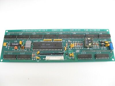 New  05464Assy31740-02 A ,  03601-86 Fluorescent Display