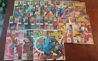 Doctor Strange (1988 3rd Series) #4-54 Run Lot 31 issues Plus Annual 3 Newstand