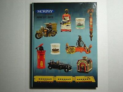 Bank Book Reference Morphy Auction Hard Cover  Iron Ceramic Trains Sbcca  Mbca !