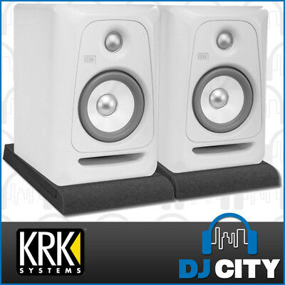 KRK RP5G3W-NW Rokit 5 G3 Powered Studio Monitor Pair Limited Edition White