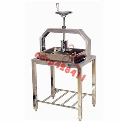 12kg/h Commercial stainless steel hand tofu press molding machine