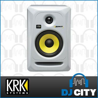 "KRK Rokit 5G3 White Generation 3 Active 5"" Powered Studio RP5G3Y - White"