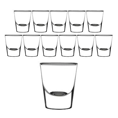 12x Shot Glass 30ml Olympia Commercial Bar Shooter Spirits Shots Shotglass