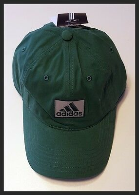 Adidas Adjustable Golf Cap - Green - Brand New - New With Tags - Value Plus!!