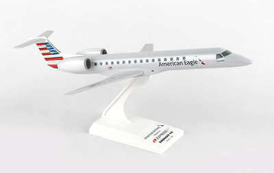 Skymarks American Eagle (ExpressJet) Embraer ERJ 145 1/100 Scale with Stand