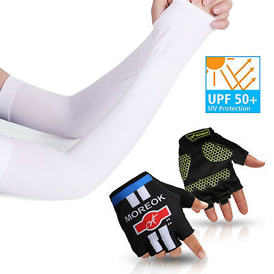 Anti-Stretch Long Sleeves Cycling Golf Arm UV Protection Sun Covers (1-10 Pairs)