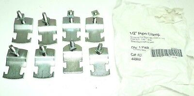 "Superstrut EMT IMC Rigid 1/2"" Pipe Clamp 4A982 1 Pack of 8 Pcs Steel Galv 4A982"