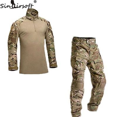 Verkauf Armee G3 Combat Uniform Shirt & Hose Set Military Airsoft MultiCam Camo