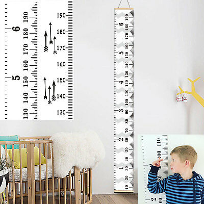 Baby Height Growth Chart Hanging Heights Measure Ruler Kids Room