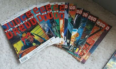 15 x Judge Dredd: The Magazine Issues (1990)