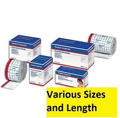 Brand New BSN MEDICAL FIXOMULL Stretch Tape - Various Sizes and Length